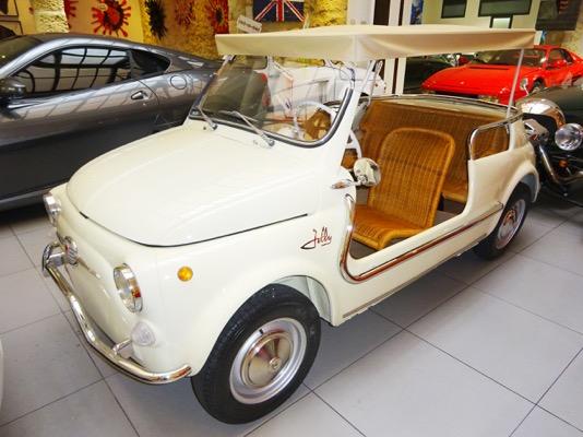 Fiat 500 Jolly Recreation