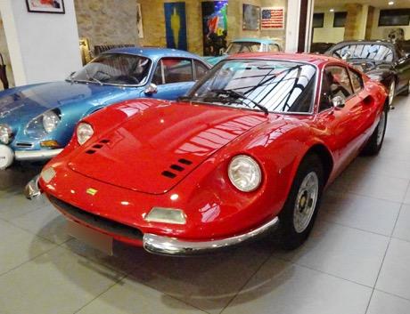 1973 Ferrari Dino 246GT Rouge