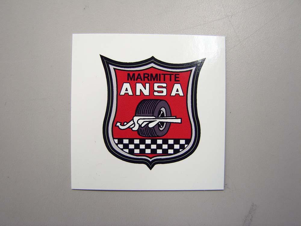 ANSA マフラー ステッカー
