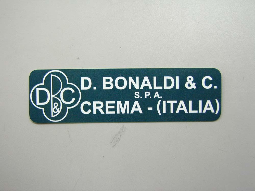 BONALDI ブレーキブースター ステッカー