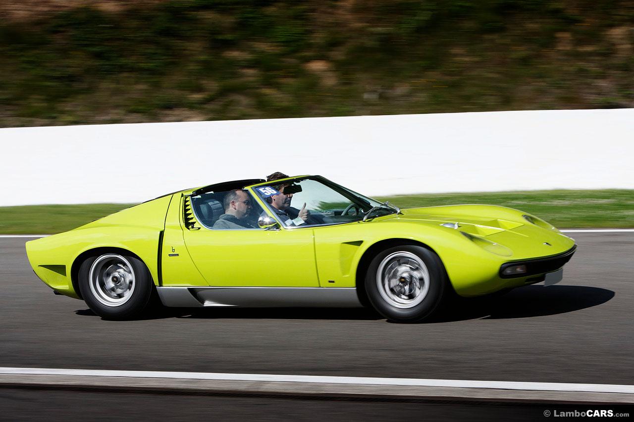 Lamborghini 1971 Miura SV-J Spider